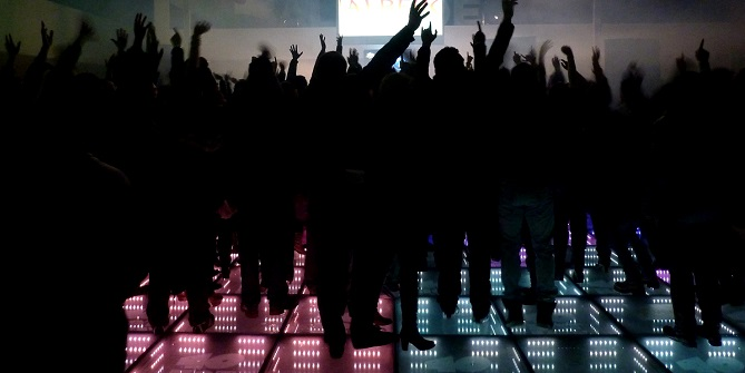 Energy Floor at live music events